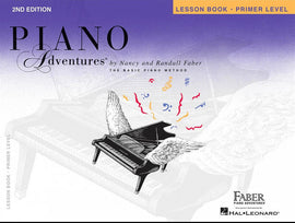 PIANO ADVENTURES LESSON PRIMER BK/CD 2ND ED