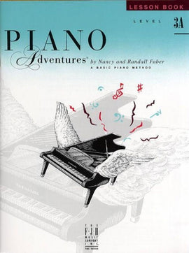 PIANO ADVENTURES LESSON BK 3A BK/CD 2ND EDITION