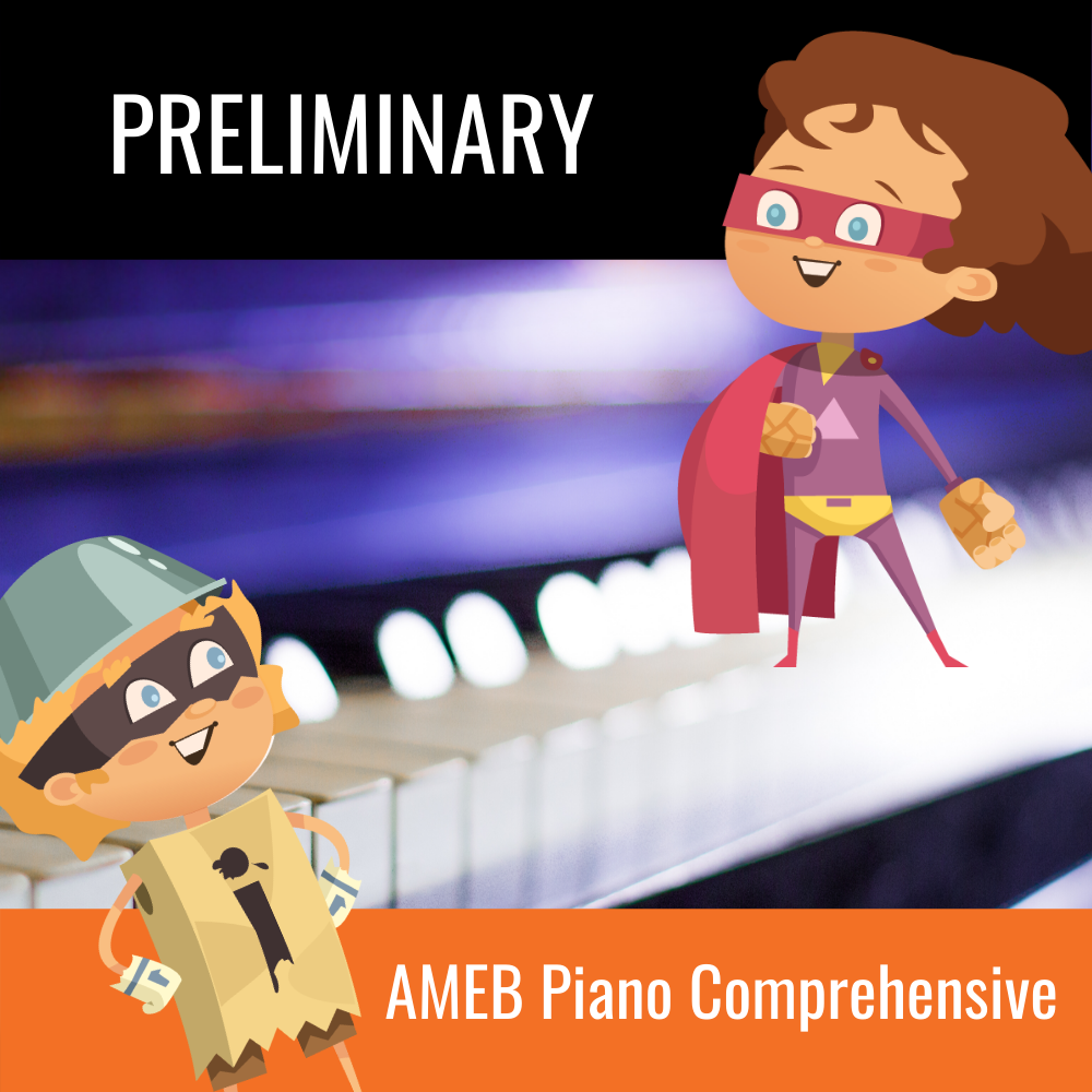 Practice Buddy AMEB Comprehensive Piano Preliminary