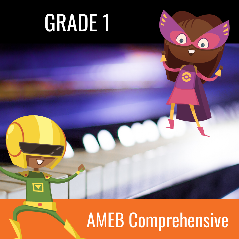 Practice Buddy AMEB Comprehensive Piano Grade 1