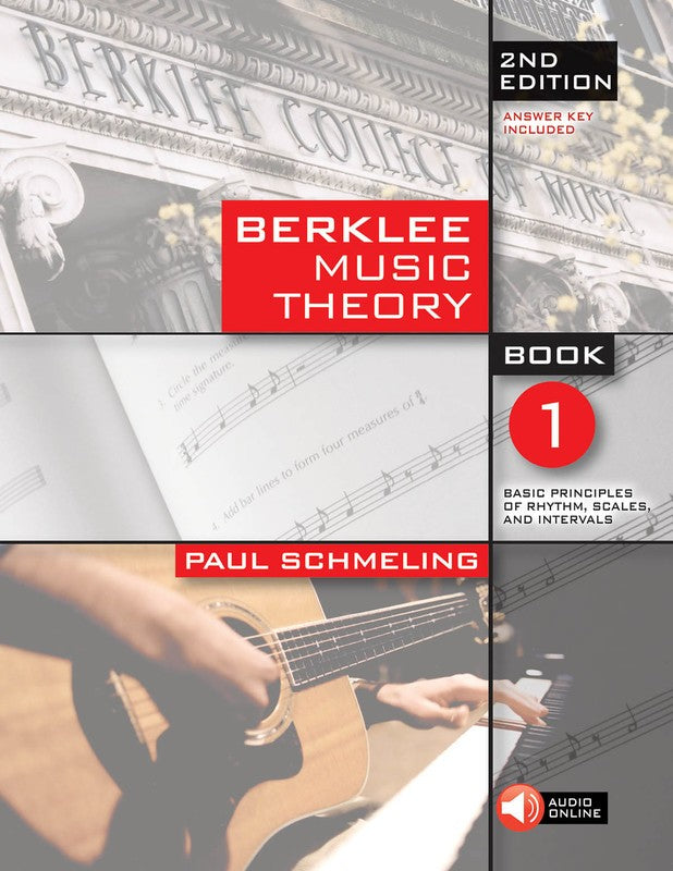 BERKLEE MUSIC THEORY BOOK 1 BK/OLA 2ND EDITION