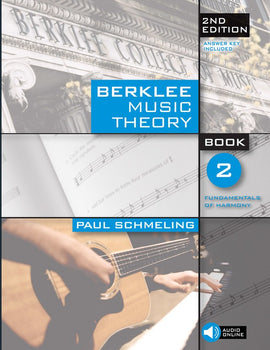 BERKLEE MUSIC THEORY BOOK 2 BK/CD 2ND EDITION