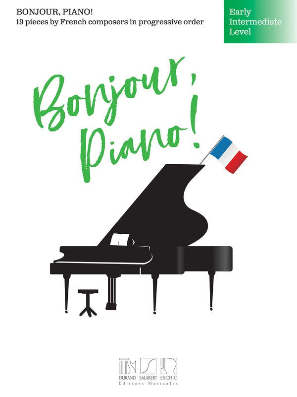 BONJOUR PIANO EARLY INTERMEDIATE LEVEL