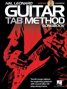 HL GUITAR TAB METHOD SONGBOOK 1 BK/CD