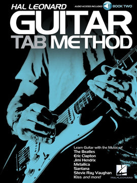 HL GUITAR TAB METHOD BK 2 BK/CD