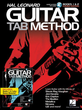 HL GUITAR TAB METHOD BK/2OLA BK 1 & 2