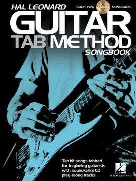 HL GUITAR TAB METHOD SONGBOOK 2 BK/CD