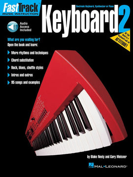 FASTTRACK KEYBOARD BK 2 BK/CD