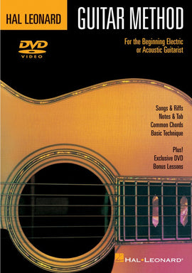 HL GUITAR METHOD DVD