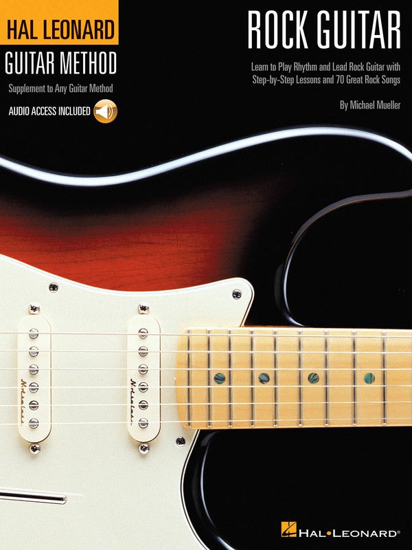 HL GUITAR METHOD ROCK GUITAR BK/CD