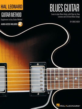 HL GUITAR METHOD BLUES GUITAR BK/OLA