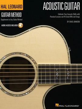 HL GUITAR METHOD ACOUSTIC GUITAR BK/OLA