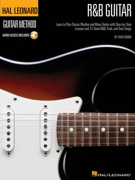 HL R&B GUITAR METHOD BK/CD