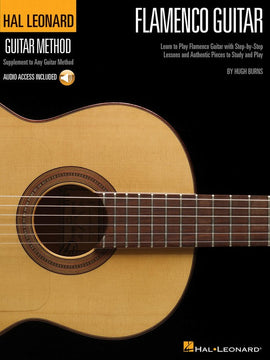 HL GUITAR METHOD FLAMENCO GUITAR BK/OLA