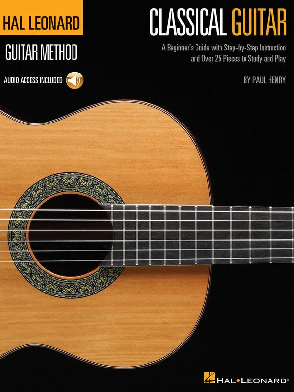 HL GUITAR METHOD CLASSICAL GUITAR BK/OLA