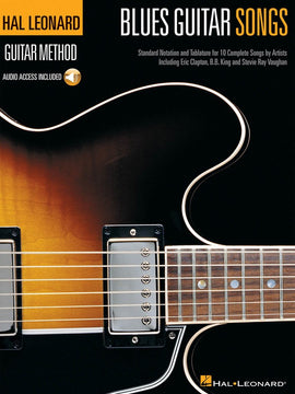 HL GUITAR METHOD BLUES GTR SONGS BK/CD