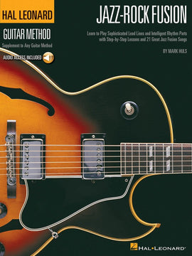 HL GUITAR METHOD JAZZ ROCK FUSION BK/CD