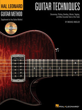 HL GUITAR TECHNIQUES GTR METHOD BK/CD