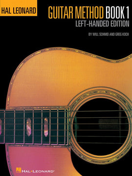 HL LEFT HANDED GUITAR METHOD BK ONLY