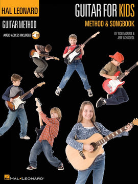 HL GUITAR FOR KIDS METHOD AND SONGBOOK BK/CD