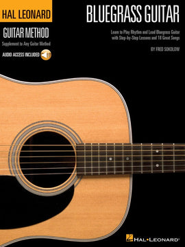 HL GUITAR BLUEGRASS METHOD BK/CD