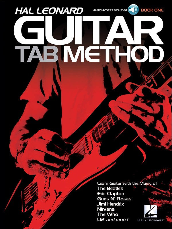 HL GUITAR TAB METHOD BK 1 BK/OLA