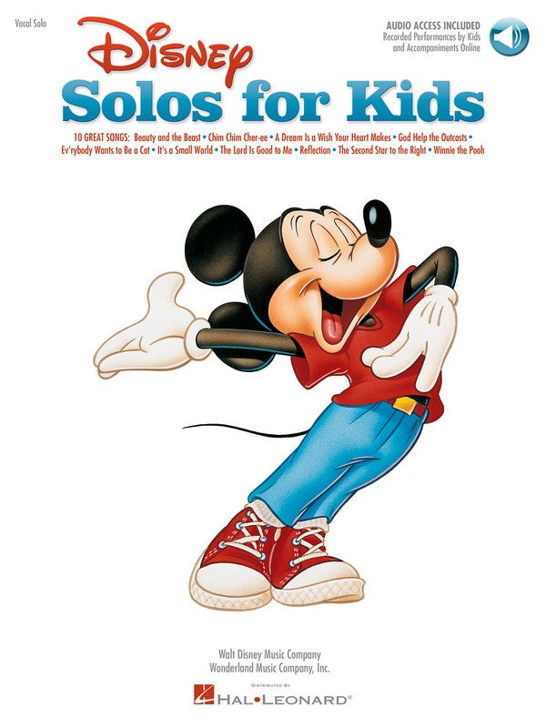 DISNEY SOLOS FOR KIDS BK/OLA