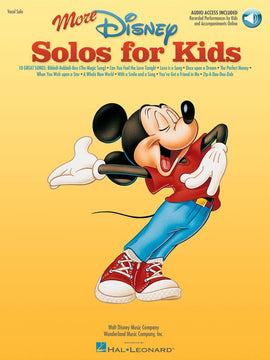 MORE DISNEY SOLOS FOR KIDS BK/OLA