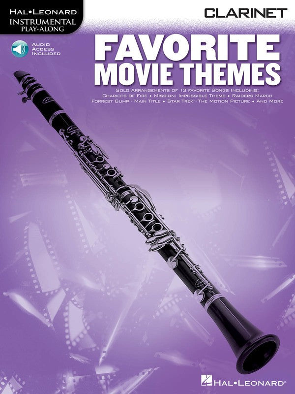 FAVORITE MOVIE THEMES FOR CLARINET BK/OLA