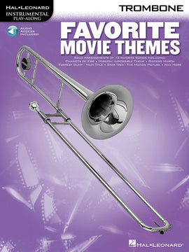 FAVORITE MOVIE THEMES FOR TROMBONE BK/OLA