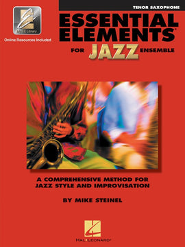 ESSENTIAL ELEMENTS FOR JAZZ ENSEMBLE TENOR SAX