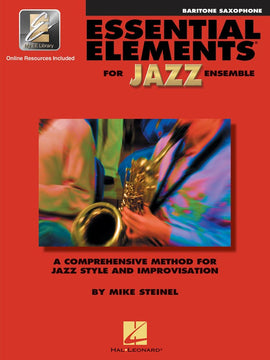 ESSENTIAL ELEMENTS FOR JAZZ ENSEMBLE BAR SAX W/