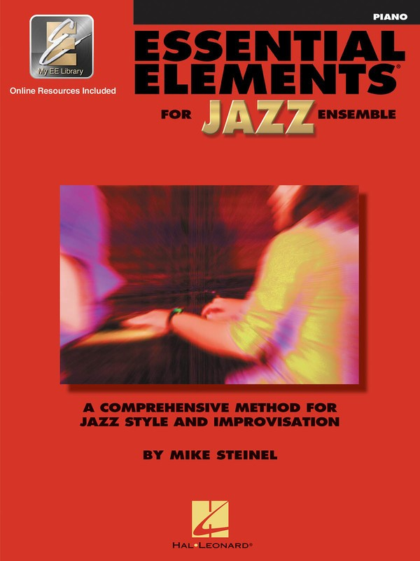 ESSENTIAL ELEMENTS FOR JAZZ ENSEMBLE PIANO W/ OL