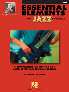 ESSENTIAL ELEMENTS FOR JAZZ ENSEMBLE BASS W/ OLA
