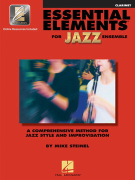 ESSENTIAL ELEMENTS FOR JAZZ ENSEMBLE CLARINET