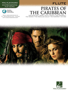 PIRATES OF THE CARIBBEAN FOR FLUTE BK/OLA