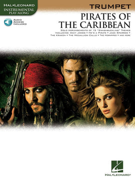 PIRATES OF THE CARIBBEAN FOR TRUMPET BK/OLA
