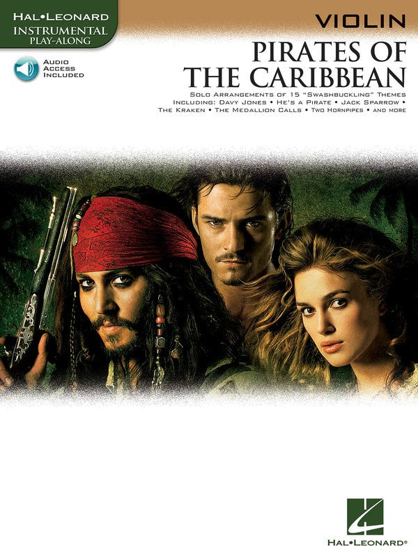 PIRATES OF THE CARIBBEAN FOR VIOLIN BK/OLA