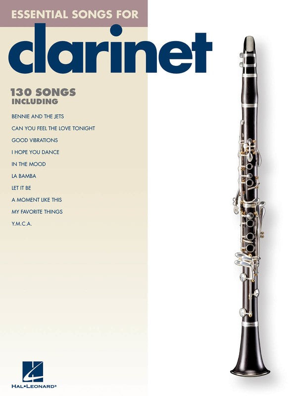 ESSENTIAL SONGS CLARINET