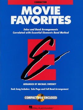 ESSENTIAL ELEMENTS MOVIE FAVORITES COND BK/CD