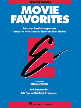 ESSENTIAL ELEMENTS MOVIE FAVORITES TENOR SAX BB