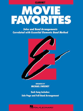 ESSENTIAL ELEMENTS MOVIE FAVORITES CLARINET EE