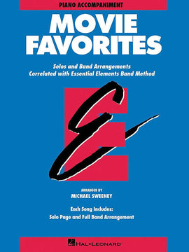 ESSENTIAL ELEMENTS MOVIE FAVORITES PNO ACC