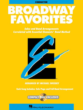 BROADWAY FAVORITES EE COND BK/CD