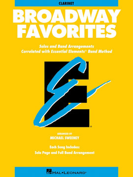 BROADWAY FAVORITES EE CLARINET