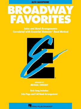 BROADWAY FAVORITES EE ALTO SAX