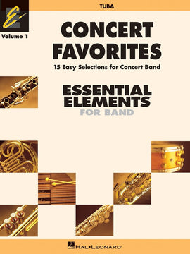 CONCERT FAVORITES EE V1 TUBA