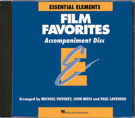 FILM FAVORITES ACCOMP CD EE BAND