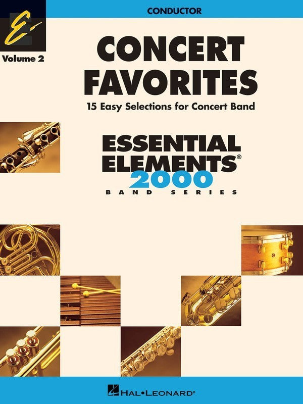 CONCERT FAVORITES EE V2 CONDUCTOR