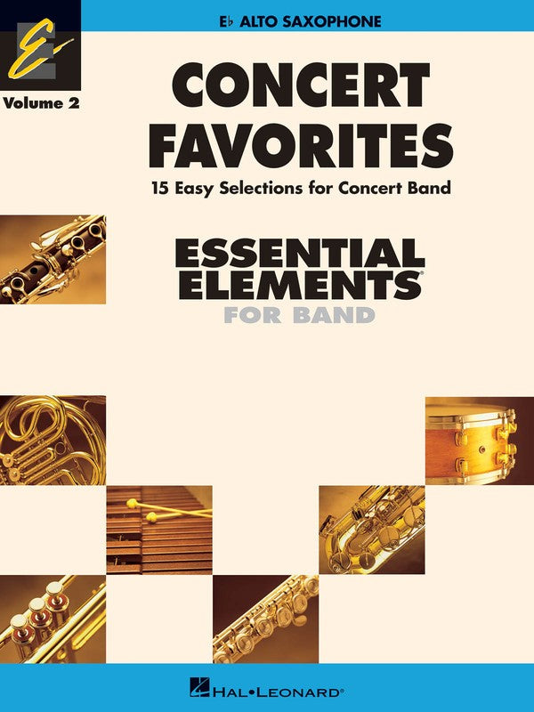 CONCERT FAVORITES EE V2 ALTO SAX